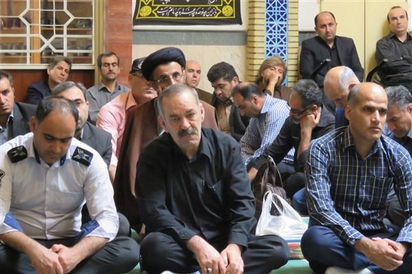 دوشنبههای عاشورایی در دانشگاه آزاد اسلامی گرگان1