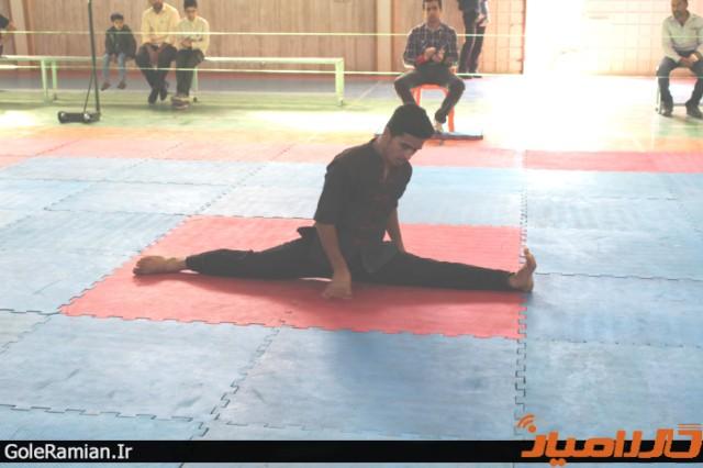 برگزاری مسابقات استانی سبک تو آ در گلستان 6