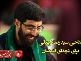 سید رضا نریمانی برای شهدای آتشنشان