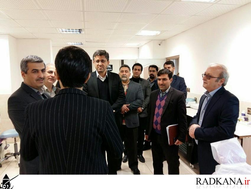 بازدید سرزده نماینده غرب گلستان در مجلس از درمانگاه شفاگستر کردکوی1