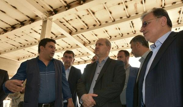 بازدید استاندار گلستان از کارخانه «بانیار پلیمر»
