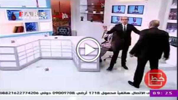 دعوای دو کارشناس در برنامه زنده تلویزیون