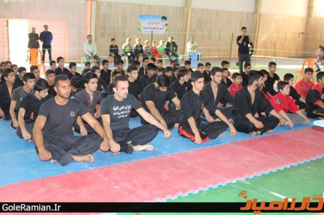 برگزاری مسابقات استانی سبک تو آ در گلستان