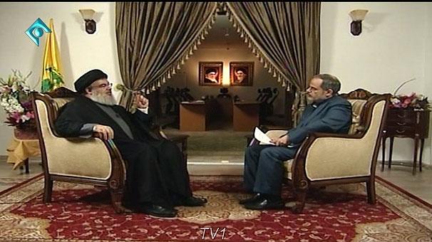 گفتگوی صداوسیما با سید حسن نصر الله
