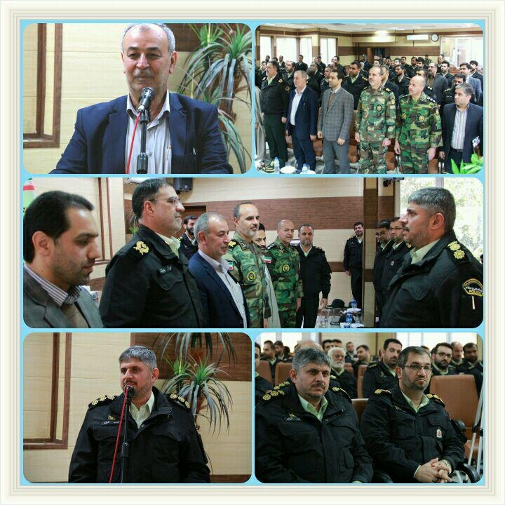 فرمانده جدید نیروی انتظامی گرگان معارفه شد1