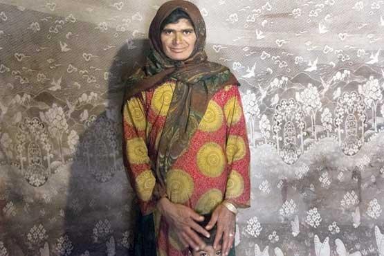زنانی که فقر و نداری پیرشان کرده است6