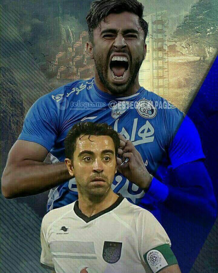 بازی استقلال السد قطر 19 بهمن 95