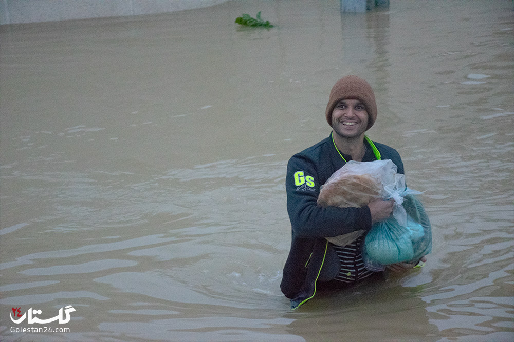 سیل گلستان - شهرستان آق قلا - پنجم فروردین 98 (27)