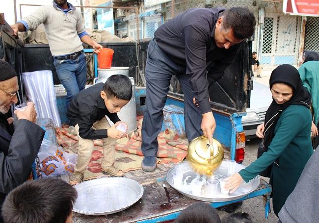 جاماندگان پیاده روی اربعین حسینی