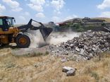 تخریب 4 بنای غیرمجاز در گرگان