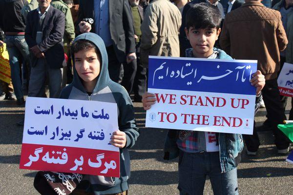 تصاویر/ راهپیمایی حماسی 22 بهمن در کردکوی