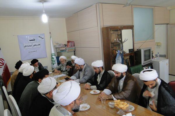 گزارش تصویری اولین نشست علماء و روحانیون شهرستان کردکوی در سال ۹۴