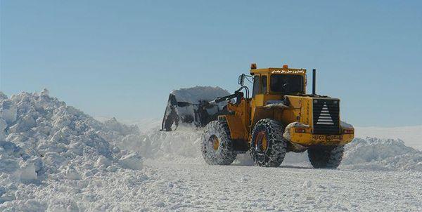 درازنو و توسکستان بیشترین بارش برف در شبانهروز گذشته