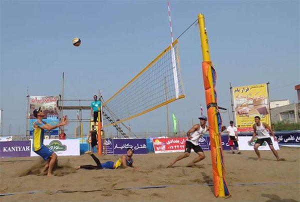 20تیم در تور والیبال ساحلی کشور حضور دارند
