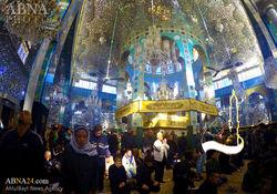 مراسم اربعین حسینی در حرم حضرت زینب(س) + تصاویر