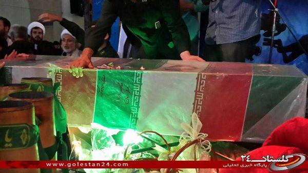 تصاویر / وداع و تشییع شهدای غواص در گنبد