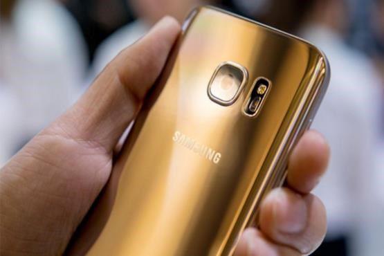 نگاهی به سامسونگ گلکسی S8 طلایی + عکس