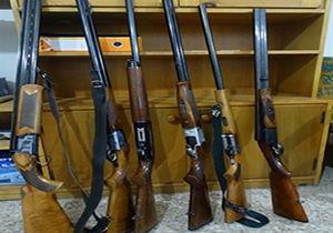کشف ۵۴ قبضه سلاح شکاری در گلستان