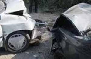 ۶ مصدوم در پی تصادف ۲ دستگاه خودرو