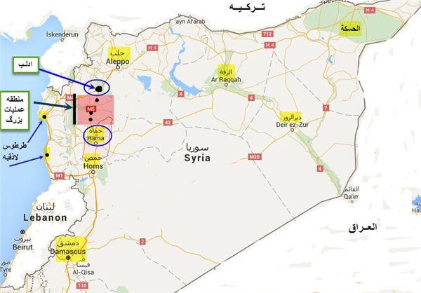 جزئیات عملیات بزرگ ارتش سوریه در غرب و پیشروی ۵۰ کیلومتری+نقشه