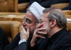 اخطار رسمی لاریجانی به روحانی +سند
