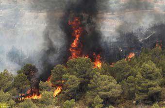 3 آتش سوزی ظرف 24 ساعت در کلاله/ احتمال عمدی بودن آتش سوزی ها وجود دارد