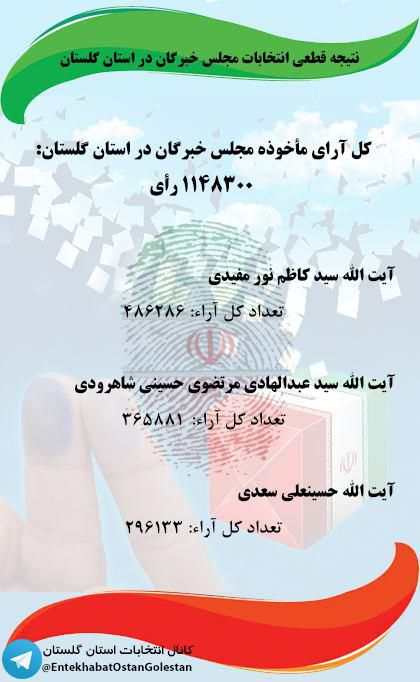خبرگان گلستان