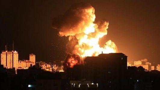 فیلم/ آتش موشکهای حماس در بئر السبع