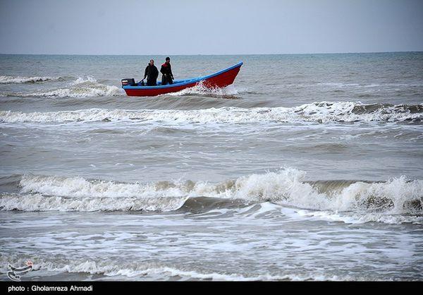 صیادان غیرمجاز دریای خزر در سواحل گمیشان دستگیر شدند