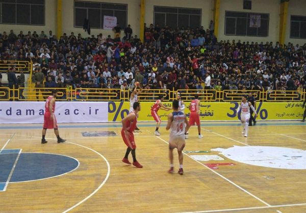 سرمربی تیم بسکتبال شهرداری گرگان: با تلاش خوب بازیکنان پیروز شدیم