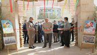 برپایی نمایشگاه دستاوردهای دفاع مقدس در دادگستری گلستان