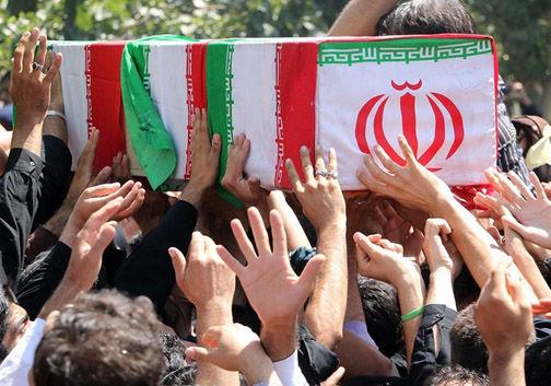 اسقبال از ۴ شهید گمنام دفاع مقدس در گلستان