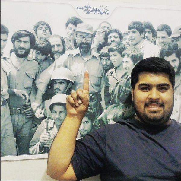 حمایت محمد باقر قالیباف از هشتگ #بسیجی_ام
