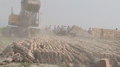 تخریب سی مورد تصرف در اراضی کشاورزی گرگان