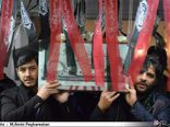 مراسم وداع با پیکر دوشهید گمنام دفاع مقدس در دانشگاه  آزاد اسلامی گرگان برگزار شد