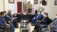 تماس نماینده مردم گرگان و آق قلا با استاندار گلستان برای حل مشکلات انتقال خون