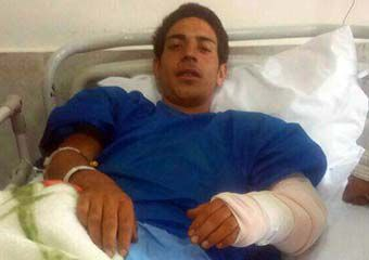 حمله یک خرس به چوپان آزادشهری + عکس