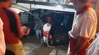 امداد رسانی به ۱۴۴ نفر در سیلاب آزادشهر