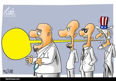 کاریکاتور/ بلندگوی غرب در انتخابات
