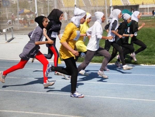 درخشش تیم دوومیدانی دختران گلستان