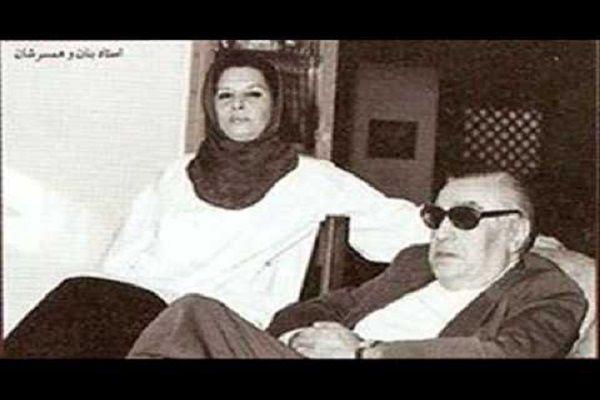 استاد بنان به روایت همسرش + عکس