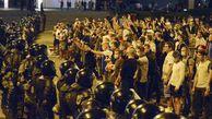 فیلم/ پیوستن ماموران بلاروس به معترضان