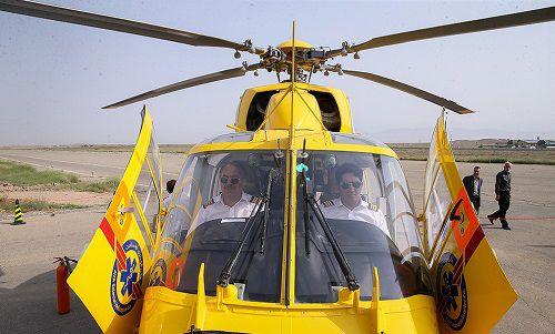 بالگرد امدادی به اورژانس 115 گلستان اختصاص یافت