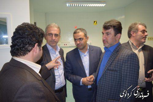 افزایش تختهای بخش فوق تخصصی قلب بیمارستان امیرالمومنین کردکوی+تصاویر