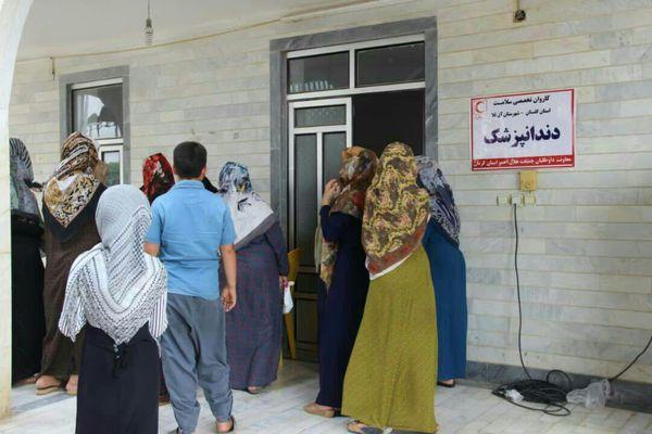 پزشکان کرمانی ۱۲۰۰ شهروند سیلزده آق قلا را درمان کردند