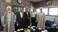 دیدار رئیس سازمان قضایی گلستان با فرمانده انتظامی استان به مناسبت هفته ناجا
