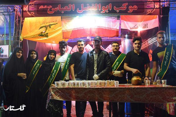 گزارش تصویری / شب سوم موکب جاماندگان پیاده روی اربعین حسینی