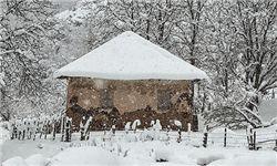 جادههای زیبای گلستان با طعم برف و سرما