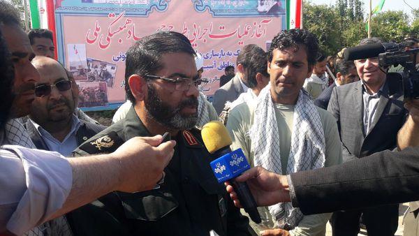 همکاری سپاه ۳ استان برای بهسازی و نوسازی واحدهای سیلزده استان گلستان