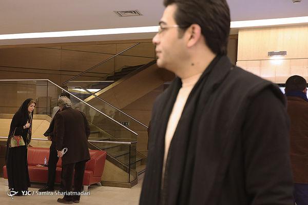 رویارویی آزاده نامداری و فرزاد حسنی در جشنواره فیلم فجر95